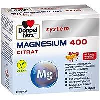 Doppelherz System Magnesium 400 Citrat, 20 St. Granulat preisvergleich bei billige-tabletten.eu