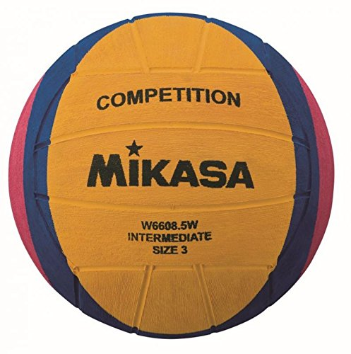 Preisvergleich Produktbild Mikasa W6608.5W Competition Intermediate Wasserball Wasserball / Waterpolo,  Gelb / Lila / Magenta,  3
