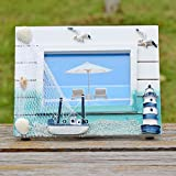 Jia&WY Mediterráneo Oriental estilo/creatividad Studio/regalos/hogar decoración/personalidad marco foto de madera portaretrato set (2 piezas)