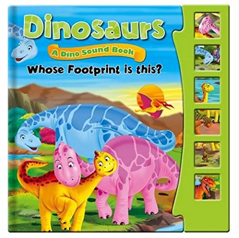 Dinosaurs, Dino Sound Book - Whose Footprint is This?: Story Sound Book