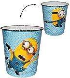 Unbekannt Papierkorb - Minions -  Ich einfach unverbesserlich  - Mülleimer Eimer / Kunststoff - Aufbewahrungsbox für Kinder Jungen - Abfallbehälter / Abfalleimer Kind..