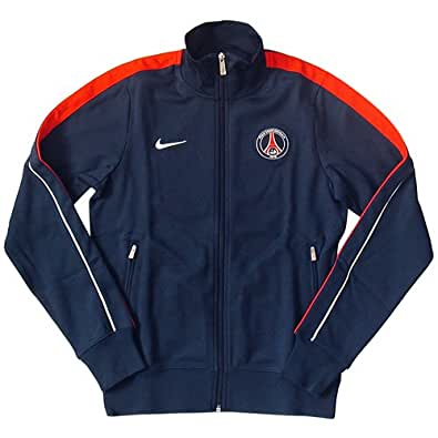 nike sweat shirt veste jacket psg authentic n98 taille s sports et loisirs. Black Bedroom Furniture Sets. Home Design Ideas
