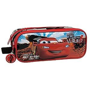 Disney Cars Neceser de Viaje, 1.45 litros, Color Rojo