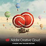 Adobe Creative Cloud Multilingual Student und Teacher | 1 Jahreslizenz | Mac Online Code & Download