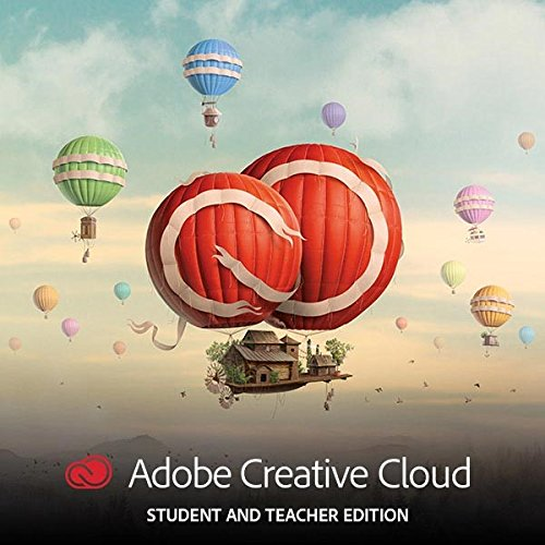Adobe Creative Cloud Multilingual Student und Teacher | 1 Jahreslizenz | PC Online Code & Download