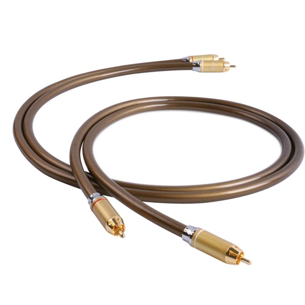 SKW OCC Audio Video Rca Kabel Stecker auf männlich: Amazon.de ...