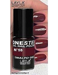 LAYLA Cosmetics One Step Gel Vernis à Ongles, One Brick Two Bricks, 1er Pack (1x 5ml)