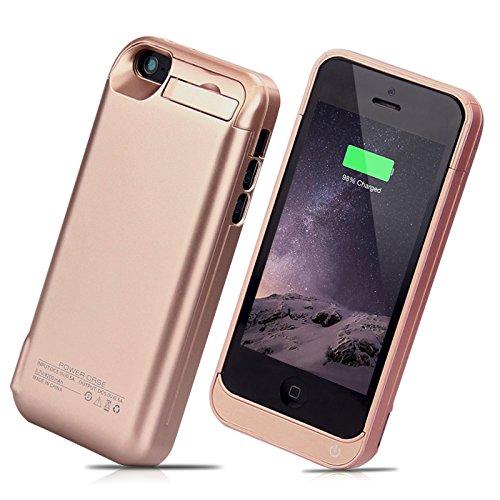 syr-4200mAh externer Akku Backup Ladegerät Fall Pack Power Bank für iPhone 5/5S/5C SE