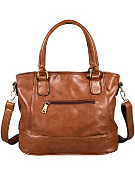 Limirror Damen Tasche Handtasche Henkeltasche Umhängetasche Schultertasche