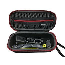 Philips OneBlade Funda, YiSeyruo EVA Estuche Caso Funda para Philips OneBlade QP2520/30, QP2520/20,QP2530/20 Recortador de barba