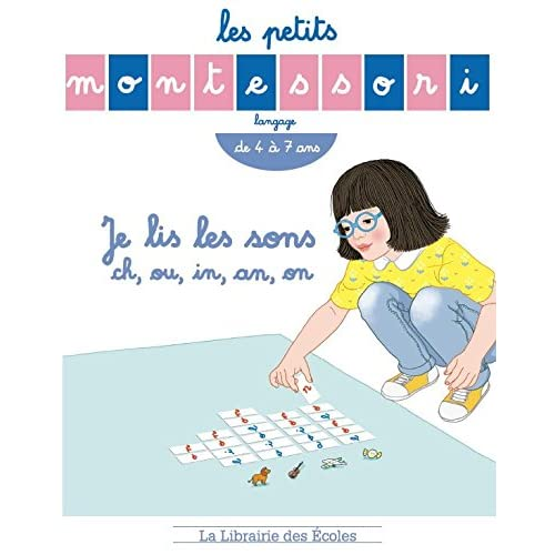 Les Petits Montessori :Je lis les sons ch, ou, in, an, on