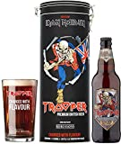 Trooper Iron Maiden Beer and Glass Tin, 8.33 cl