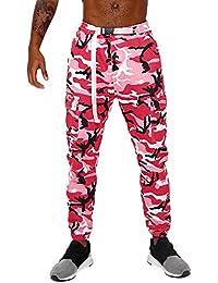 Pantalones de Hombre by BaZhaHei, Diseño único Pantalón Hombre de Pantalones de pantalón de Camuflaje