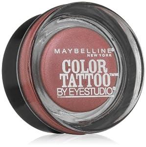 Maybelline New York Eye Studio Color Tattoo Metal 24 Hour Cream Gel Eyeshadow, 0.14 Ounce (Inked in Pink)