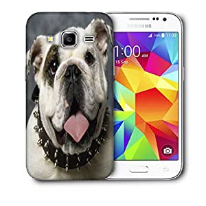 Snoogg English Bulldog Puppy Printed Protective Phone Back Case Cover For Samsung Galaxy Core Plus G3500