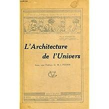 L'architecture de l'univers
