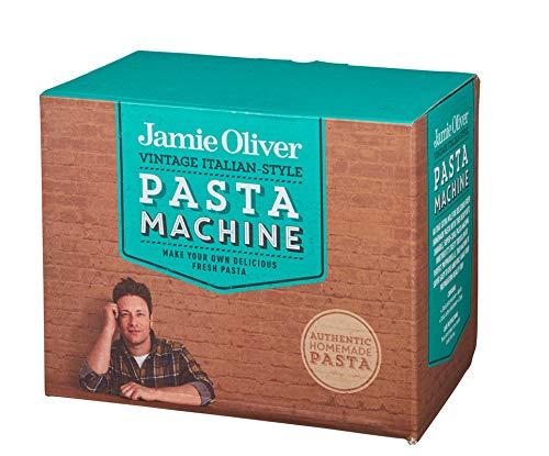 Jamie Oliver 555152 Nudelmaschine, chrom