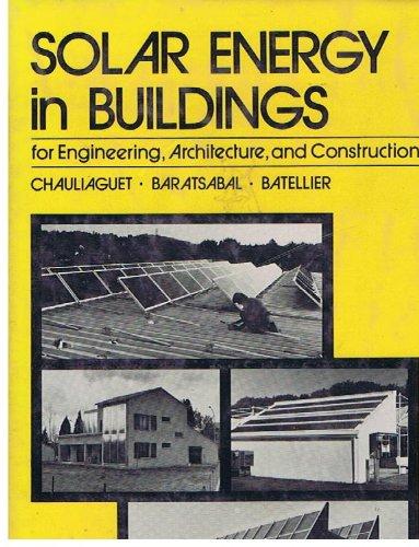 Solar Energy in Buildings par Charles Chauliaguet