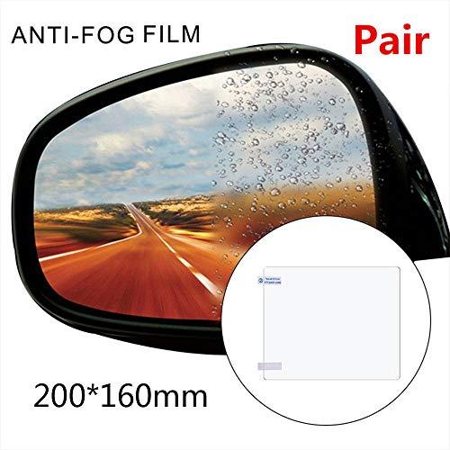 Gaddrt Auto Antibeschlag, regendicht, für Rückspiegel, 20 x 16 cm, mit Schaber und Kleiner...