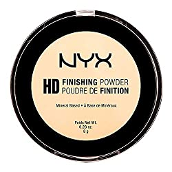Nyx Professional Makeup High Definition Finishing Powder, Banana, 8g