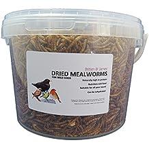 Britten U0026 James   Dried Mealworms Mealworms. Secchi. Cibo Per Gli Uccelli  Selvatici.