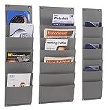 PP-Planboard zur Aufbewahrung von Dokumenten, Zeitschriften, Auftragstaschen etc, verschiedene Maße