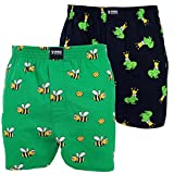 Happy Shorts 2 Webboxer Herren Boxer Motiv Boxershorts Farbwahl, Grösse:M - 5-50, Präzise Farbe:Design 5