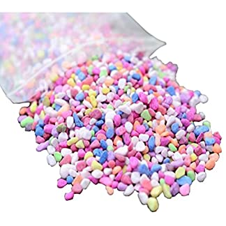 AmgateEu Aquarium Decorative Colorful Gravel Pebbles 1 Pound AmgateEu Aquarium Decorative Colorful Gravel Pebbles 1 Pound 51U4elmnesL