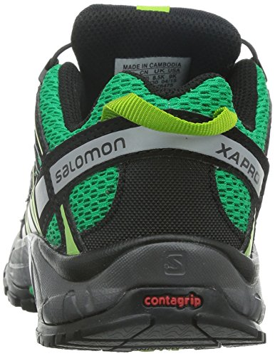 Salomon Xa Pro 3d K Unisex-Kinder Traillaufschuhe Grün (Real Green/Black/Granny Green)