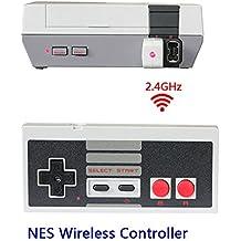 Contrôleur NES Mini Classic sans fil, NES Gamepad sans fil pour Nintendo Mini NES Classic Edition, Contrôleur sans fil Joypad et Gamepads pour Nintendo NES Mini Edition Classic Game System par TT Globle