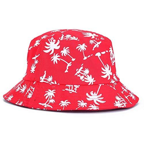 AROVON Hut Frauen Männer Vogue Hanfblatt Design Becken Kappen Ahorn Blätter Brooklyn Bucket Hut Fischer Hut Freizeit Hüte