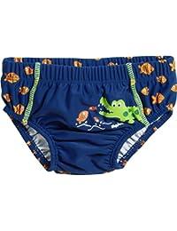 Playshoes UV-Schutz Windelhose Krokodil, pañal de natación para Bebés