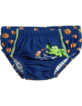 Playshoes Baby-Jungen Schwimmwindel Uv-Schutz Windelhose Krokodil