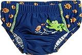 Playshoes Baby-Jungen Schwimmwindel UV-Schutz Windelhose Krokodil, Blau (Marine 11), 62 (Herstellergröße: 62/68)