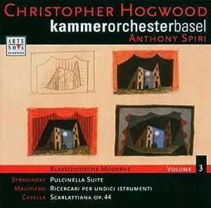 Klassizistische Moderne Vol. 3 (Hogwood, Spiri)