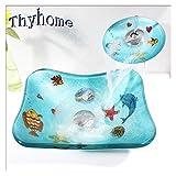 Kinder Kinder Dolphin Gehärtetem Glas Handwaschbecken Gehärtetem Glas Container Waschbecken Waschbecken Set (L370mm * W295mm * H125mm * T12mm)