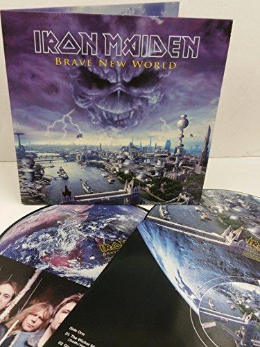 IRON MAIDEN brave new world, gatefold, 2 x picture disc, 7243 5 26605 1 3