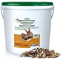Comida para Ardillas (2Kg) | Producto 100% Natural con Escaramujos y Avellanas | AniForte