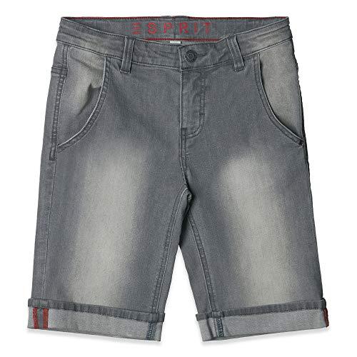 ESPRIT KIDS Jungen Denim Bermuda Shorts, per Pack Grau (Grey Denim 213), 152 (Herstellergröße: 152)