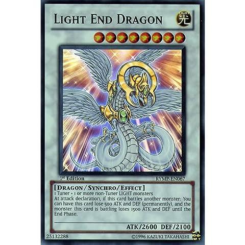 YuGiOh : RYMP-EN067 1st Ed Light End Dragon Super Rare Card - ( Ra Yellow Mega Pack Yu-Gi-Oh! Single Card )