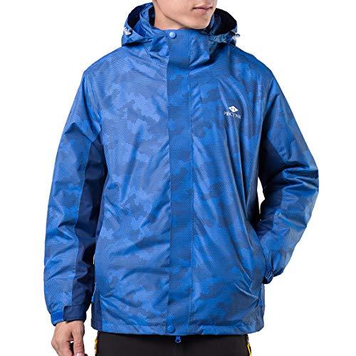 51U4lgSabjL. SS500  - P T PECTNK Mens Waterproof Jackets 3 in 1 Outdoor Work