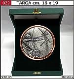 Blechschild Bogenschießen Bogen Medaille Trophäe Pokal Siegerehrung Trophy Archery TIR à l 'Arc