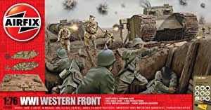 Airfix A50060 WWI - The Western Front 1:76 Scale Diorama Gift Set