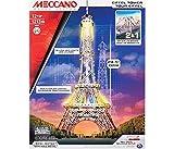 New Meccano MEC6024900 Tour Eiffel/Brooklyn Bridge MODELLINO Die CAST Model