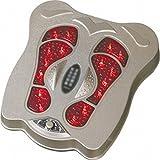 LIUYE Elektrische Fußmaschine/Fuß Vibrationsmassage/Fuß Infrarot Instrument Instrument/Fuß Massage Ausrüstung/Multifunktions zur Förderung Der Blut-Umsatz-Massage,Grau