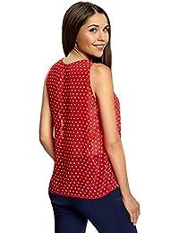 Amazon.es: flores rojas - Blusas y camisas / Camisetas, tops y blusas: Ropa