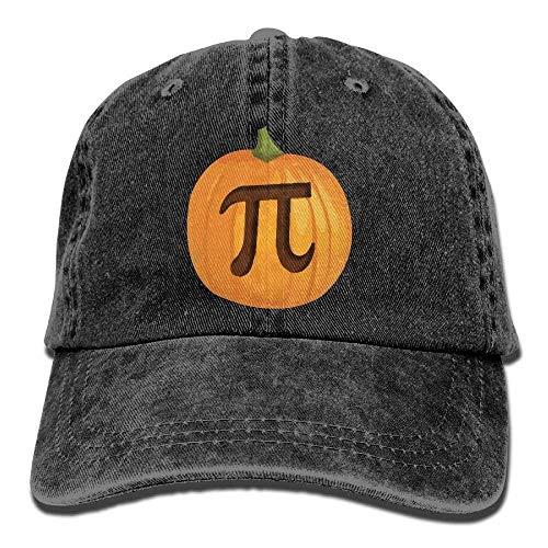 Kostüm Pumpkin Pie - Wdskbg Men Women Funny Halloween Pumpkin Pie Pi Jeanet Baseball Hat Adjustable Trucker Cap
