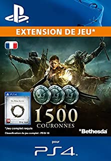 The Elder Scrolls Online : 1500 Couronnes [Extension De Jeu] [Code Jeu PSN PS4 - Compte français] (B011A46CFG) | Amazon price tracker / tracking, Amazon price history charts, Amazon price watches, Amazon price drop alerts