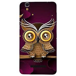 Bhishoom Designer Printed Back Case Cover for YU Yureka :: YU Yureka AO5510 (Owl :: Cute :: Kawaii :: Art :: Cartoon)
