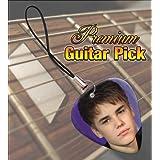Printed Picks Company Justin Bieber (Face) Premium Guitar Pick Phone Charm